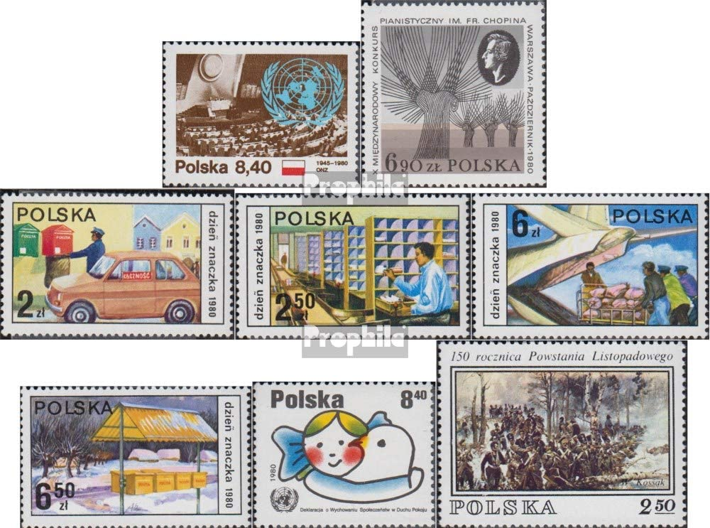Prophila Collection Polonia 2713,2714,2715-2718,2719, 2720 ...