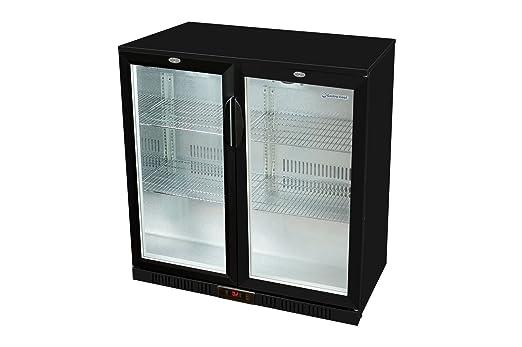 Mini Kühlschrank Mit Glastür : Glastür kühlschrank 90 x 90 x 52 cm schwarz getränkekühlschrank