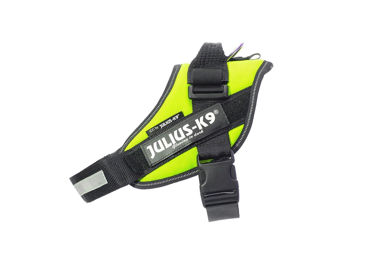 Dog Harness Size 0 Neon Green Julius-K9 16IDC-NE-0 IDC Powerharness