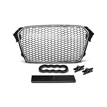 Calandre Grill Audi A4 (B8) rs-type 11.11 – 15 cromo negro