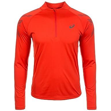 9a0efd172 Asics Essentials Stripe 1 2 Cremallera LS Camiseta para Correr - XS   Amazon.es  Ropa y accesorios