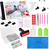 Diamond Painting A4 LED Light Pad Kit, LED Artcraft Tracing Light Table, Tools and Accessories Kit for Full Drill…