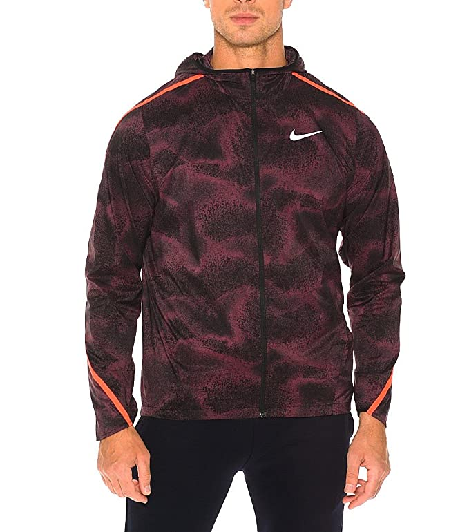 22c6f99112b6 Amazon.com  Nike Shield Impossibly Light FULL ZIP HOODED JACKET  Sports    Outdoors