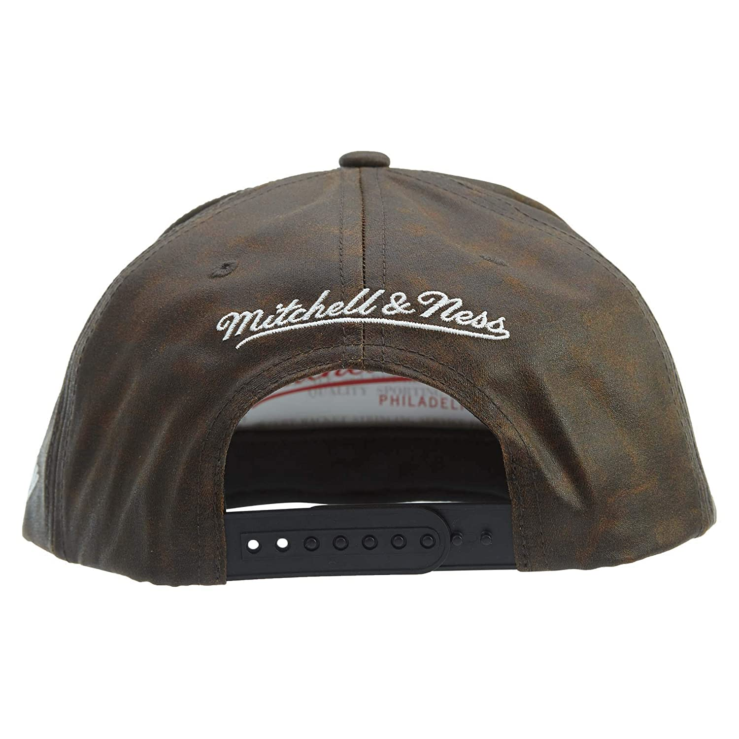 quality design 0792a d5955 Mitchell ness Nba Oil Slick Brooklyn Nets Adjustable Hat Unisex Style    BH78FF-BROWN Size   OS at Amazon Men s Clothing store
