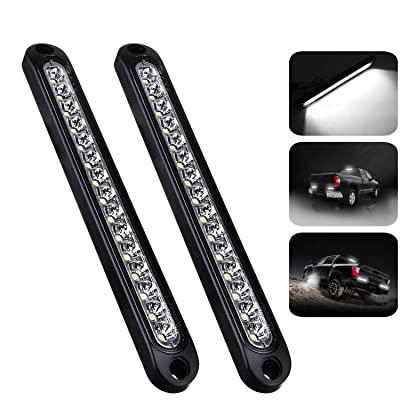 "PSEQT 10"" 15 LED Trailer Identification Light Led Reverse Backup Tail Light Bar Strip Truck Rear Side Marker Lights Waterproof¡­: Automotive"