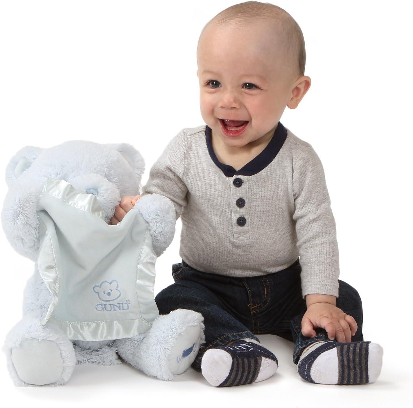 Enesco Gund Baby Peluche Mi Primero Oso Mir/é A Escondidas azul 20.5x20.5x29 cm Poli/éster