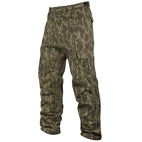 590599e60b902 Amazon.com : Mossy Oak Men's Cotton Mill 2.0 Camouflage Hunting Pant ...