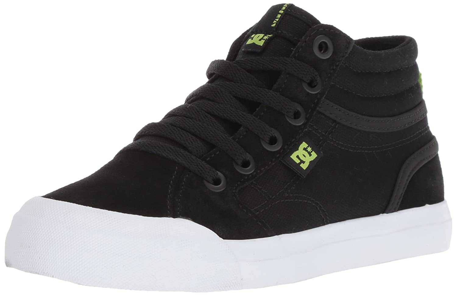 DC Kids' Evan Hi Zip Skate Shoe ADBS300330