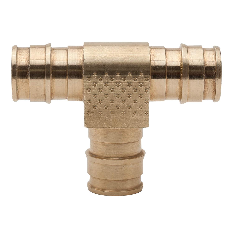 10 Pack Watts 3//4 in Lead Free Pert ASTM F1960 Tee LFPFT444X-10 3//4 x 3//4 x 3//4 in