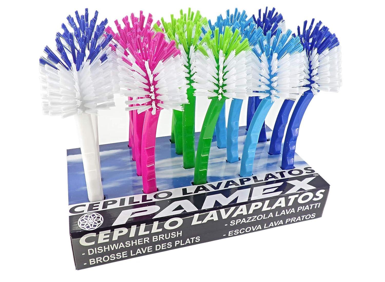 Cepillo Lavaplatos Colores Surtidos 20 Unidades PAMEX