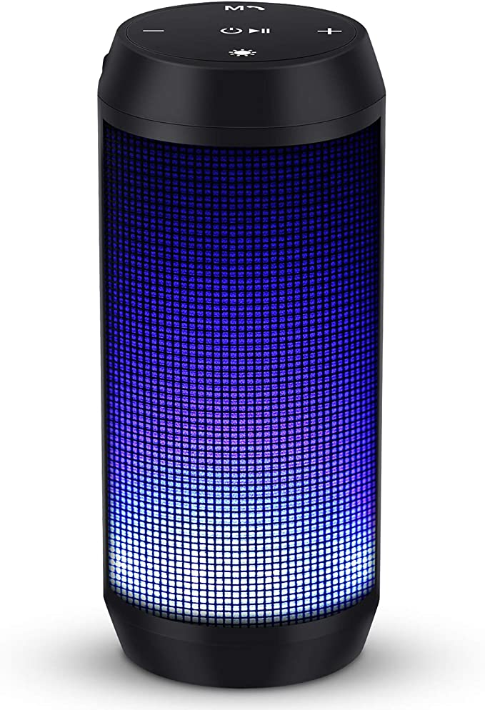 Elehot Bluetooth Speaker, Portable Music Box, LED: Amazon.de: Elektronik