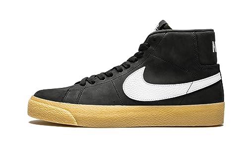 36f171766c4f7 Amazon.com | Nike Sb Zoom Blazer Mid Iso (Black/White-Safety Orange ...