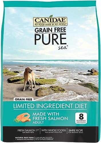 Canidae Grain Free Pure Sea Adult Dog Food, 4 lbs.