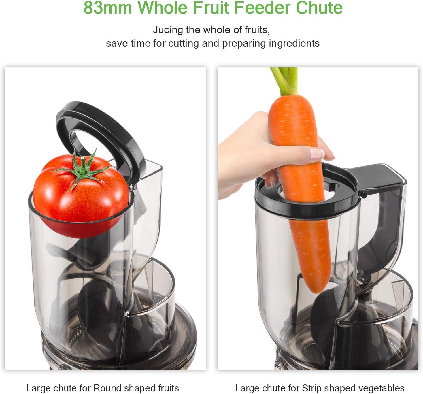 Licuadora Prensado en Frio, Bextcok Licuadoras para Verduras y ...