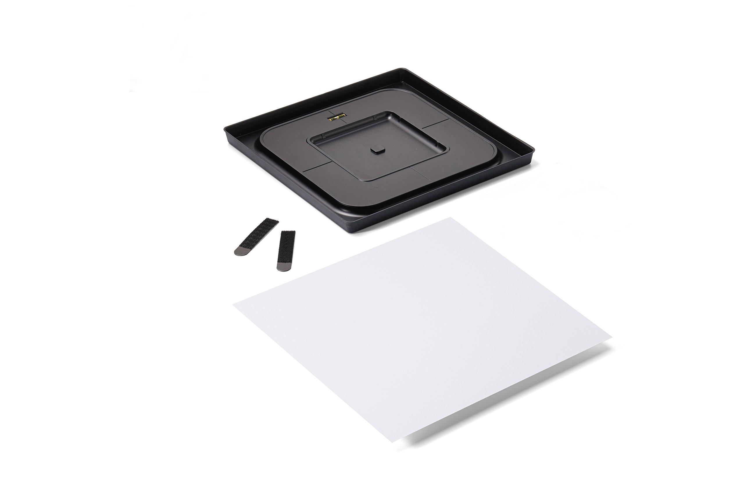 Command Décor Damage-Free Wall Tile Kit, Dry Erase