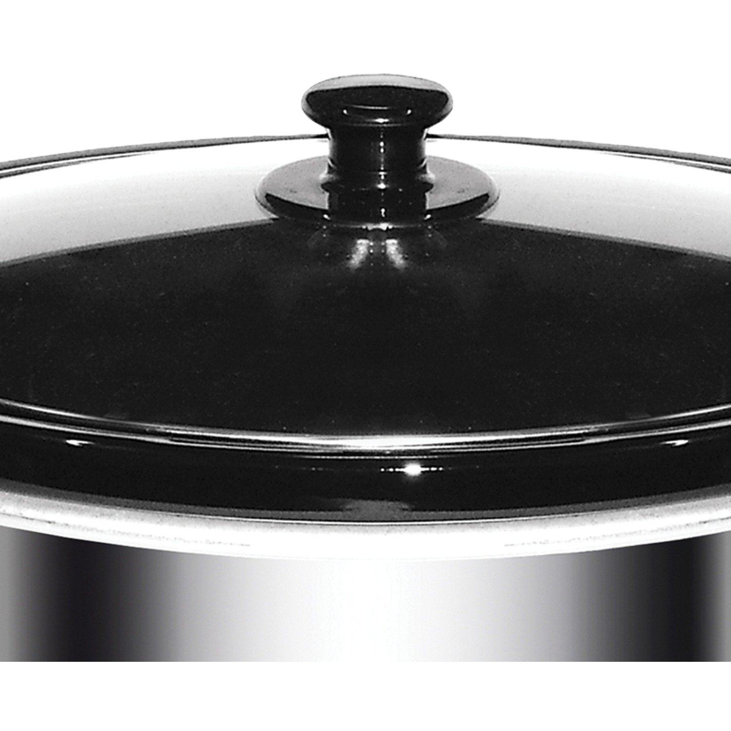 Brentwood SC-170S 8 Quart Slow Cooker, Stainless Steel