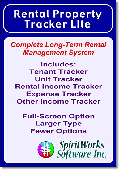 Amazon Com Rental Property Tracker Lite Download Software