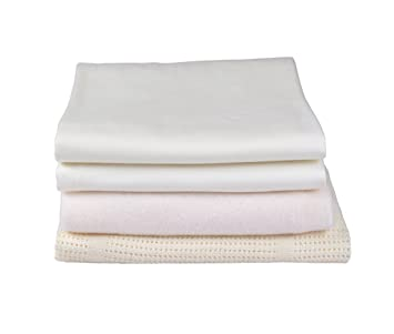 Clair De Lune Fitted Cot Bed Sheets Pack of 2 Pink