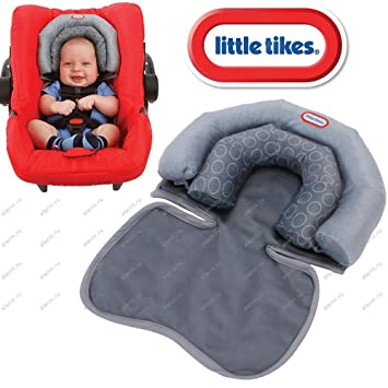 Little TikeR Baby Infant 2 In 1 Soft Head Neck Support Cushion Pillow For Travel