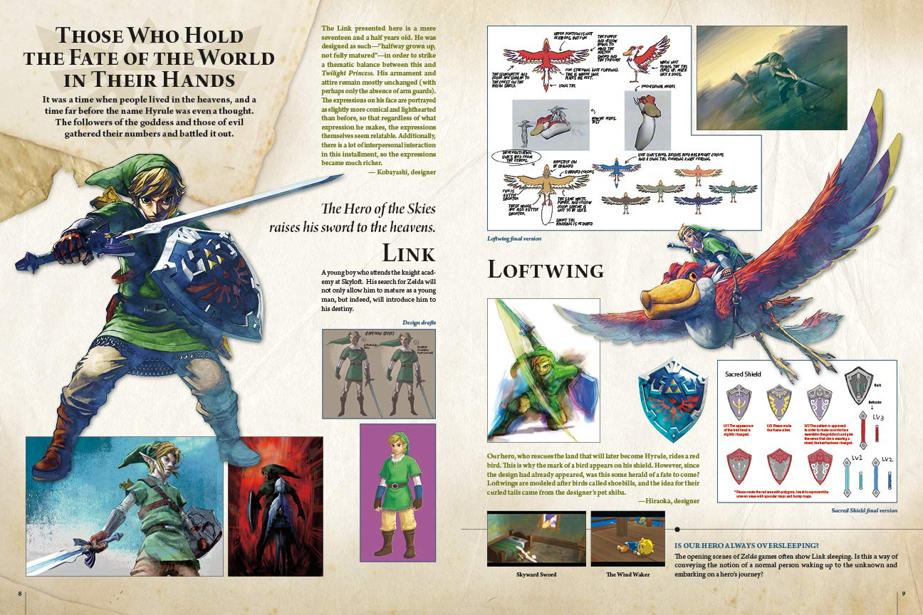 The Legend of Zelda: Hyrule Historia: Patrick Thorpe