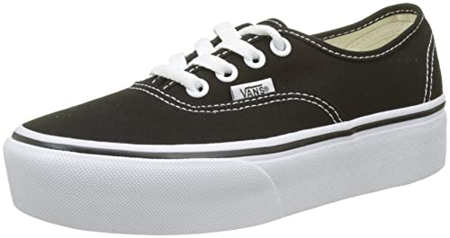 separation shoes 19c51 84c5b Vans Damen Authentic Platform 2.0 Sneaker, schwarz-weiß, 36 EU