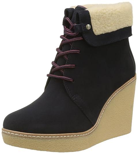 Tommy Hilfiger B12385randy 1bw, Botas Chukka para Mujer: Amazon.es: Zapatos y complementos