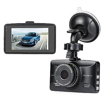 nexgadget 2,7 1080P FHD Auto Cámara 150 ° Gran Angular Dash Cam,