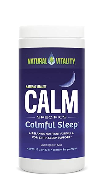 Natural Vitality Calm Specifics Kids Dietary Supplement Powder, Mixed Berry Flavor   16 Ounce by Natural Vitality