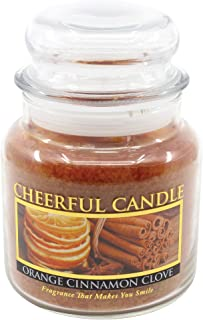 product image for A Cheerful Giver Orange Cinnamon Clove Jar Candle, 16-Ounce