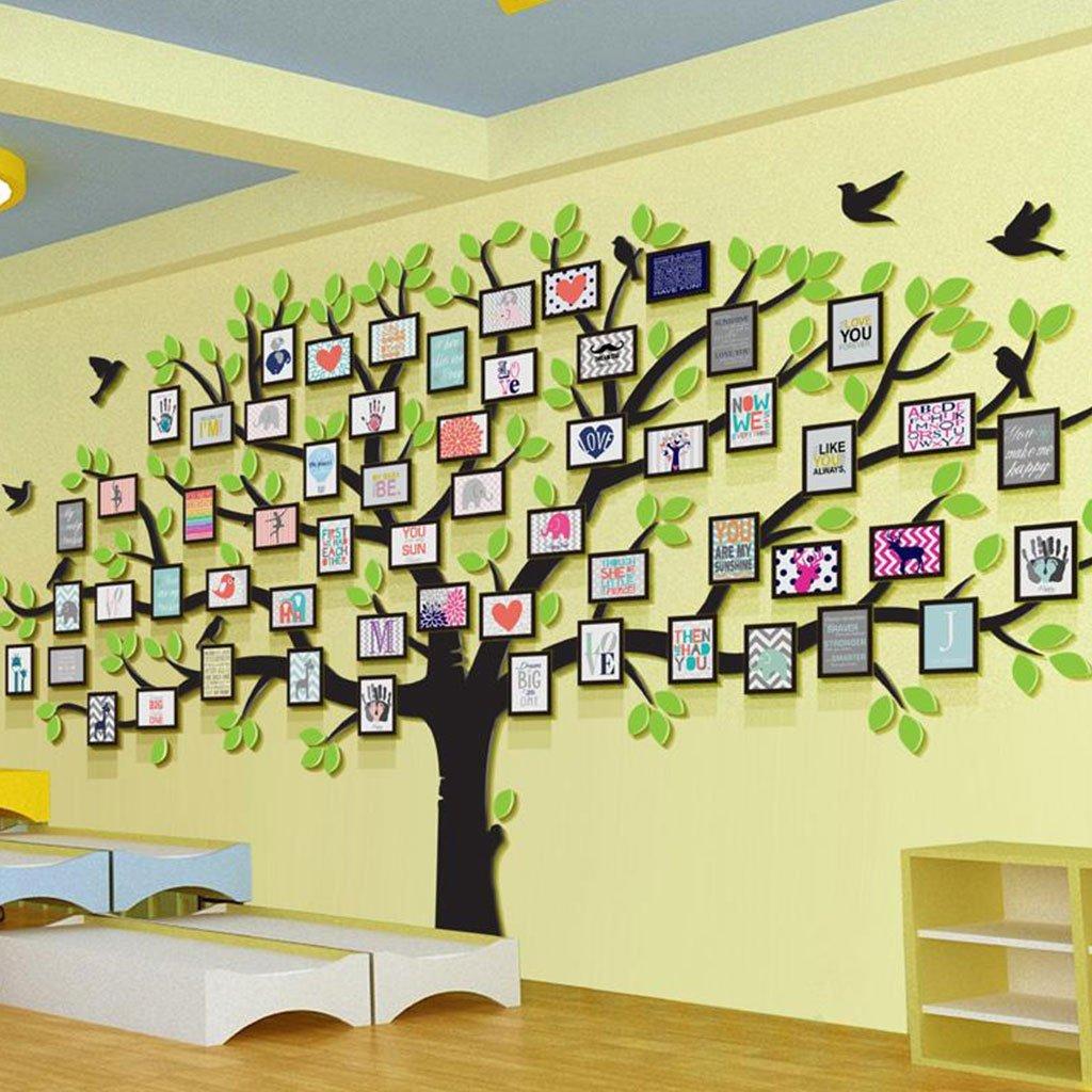 フォトウォール 企業文化の壁のステッカー3Dステレオアクリルの大きな壁の壁の壁の壁 (パターン : C) B07G36X4PX C