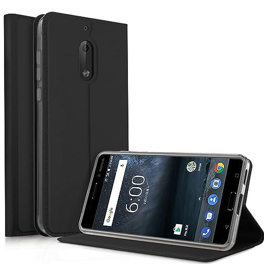 4 opinioni per Nokia 6 Cover- KuGi Slim Flip Cover Custodia per Nokia 6 Smartphone (Flip