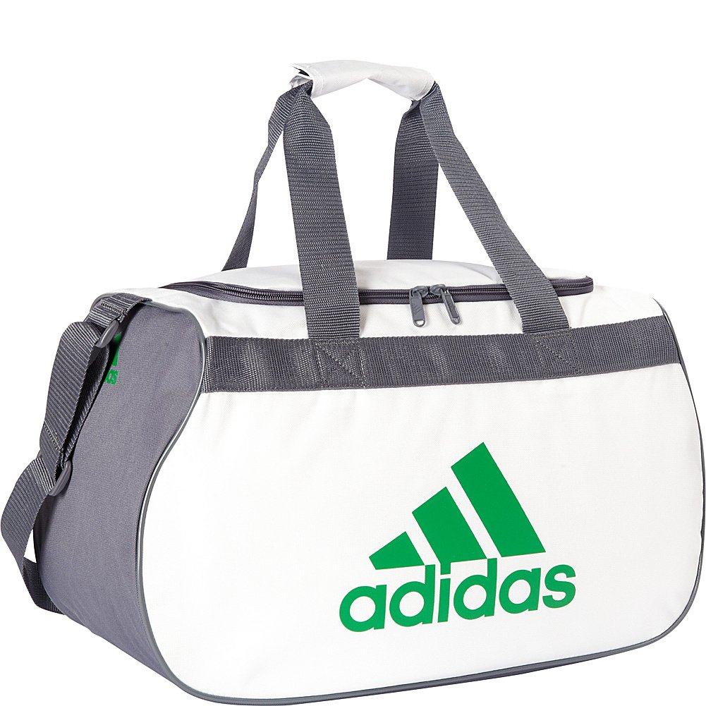 adidas Diablo Small Duffel Limited Edition Colors- Exclusive (Neo White / Onix / by adidas