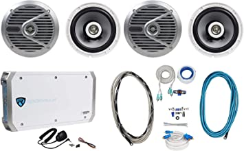 Silver Alpine SPS-M601 6-1//2 2-way marine speakers