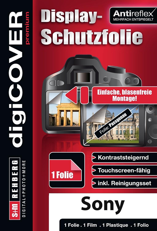 Protector de Pantalla para Sony DSC-H200 DigiCover Transparente
