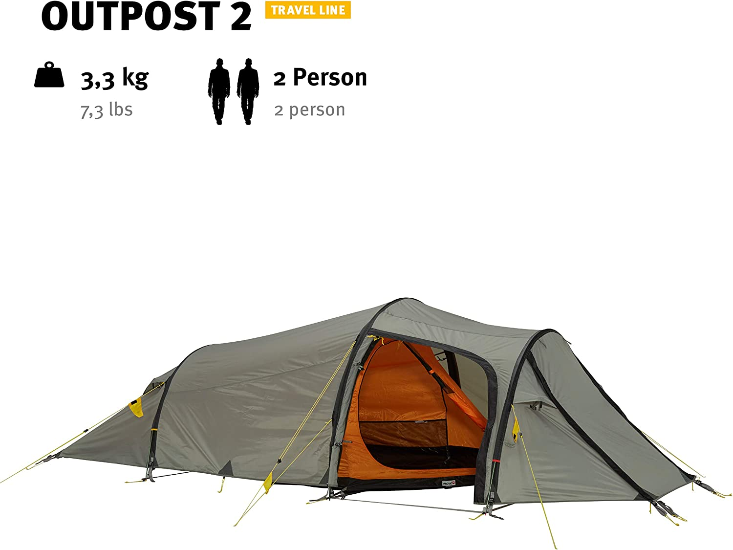 Wechsel tents Tunnel Tent Outpost Oak Very spacious Travel Line