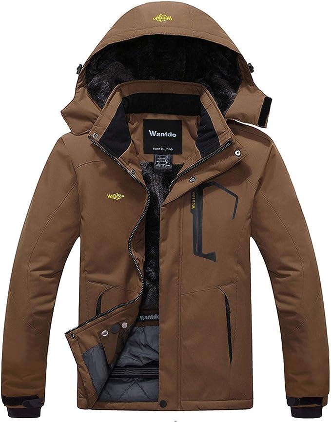 Wantdo Men's Mountain Rain Jacket