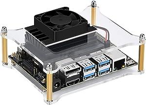 iUniker Jetson Nano Case, Jetson Nano Case with Fan Jetson Nano Fan NVIDIA Jetson Nano Case Cooling Fan Heatsink (with Fan)