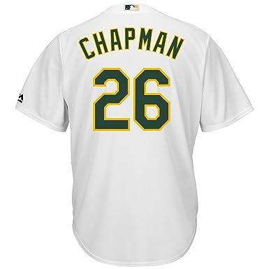 928bad5f Matt Chapman Oakland Athletics #26 White Youth Cool Base Home Jersey (Small  8)
