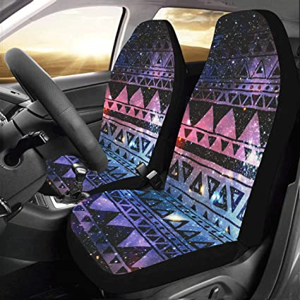Artsadd Aztec Tribal Fabric Car Seat Covers Set Of 2 Best Automobile Seats Protector