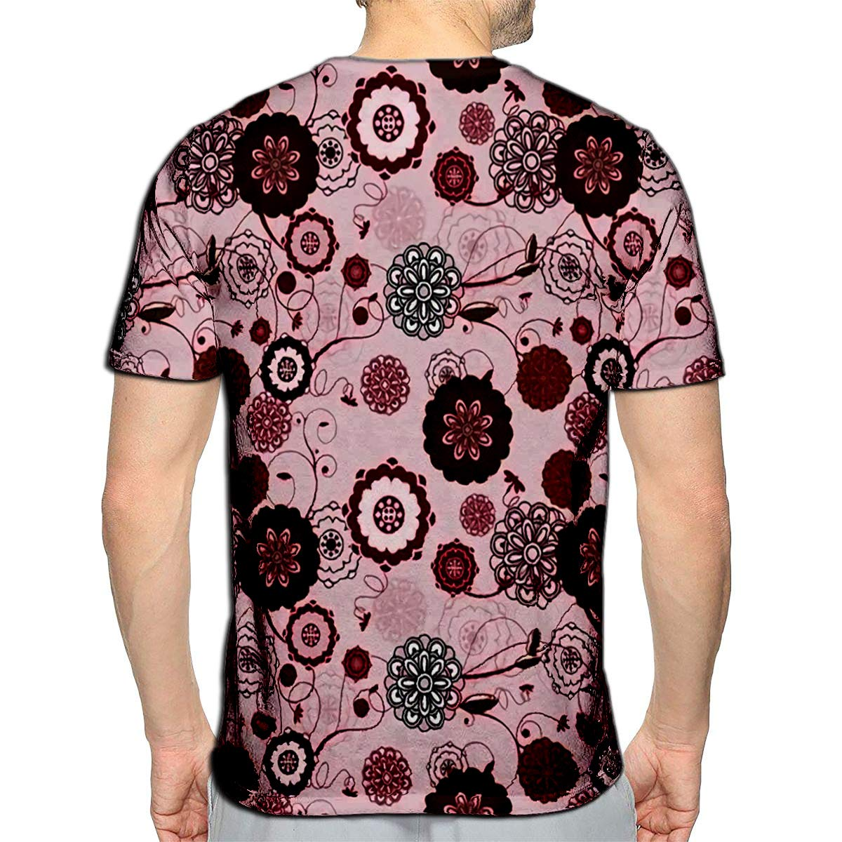 3D Printed T-Shirts Sakura Flower Blossom Style Banner Cute Doodle Japanese Cher