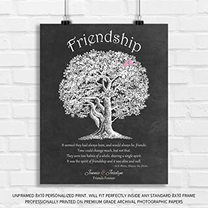 Amazon.com: Personalized Gift for Friendship Best Friends ...