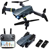 Drones with Camera for Adults, FCONEGY E58 Foldable RC Quadcopter Drone with 1080P HD Camera for Beginners,WiFi FPV Live…