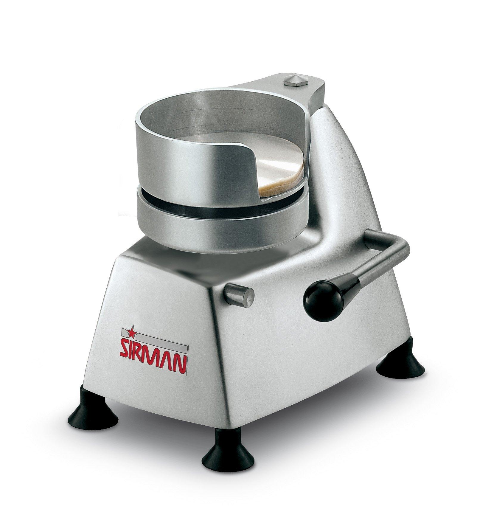 Sirman SA 100 Manual Patty Presses, 4-Inch Diameter Mold