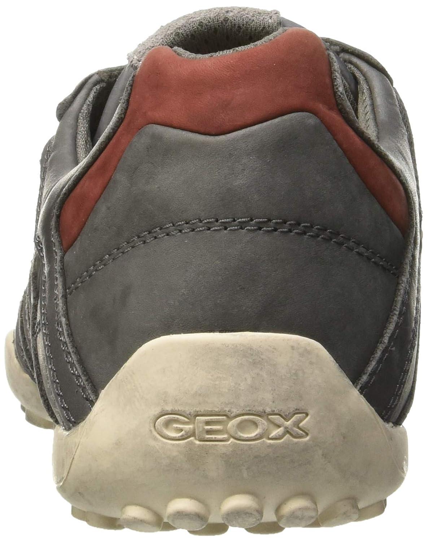 Geox Uomo Snake A, Scarpe da Ginnastica Basse
