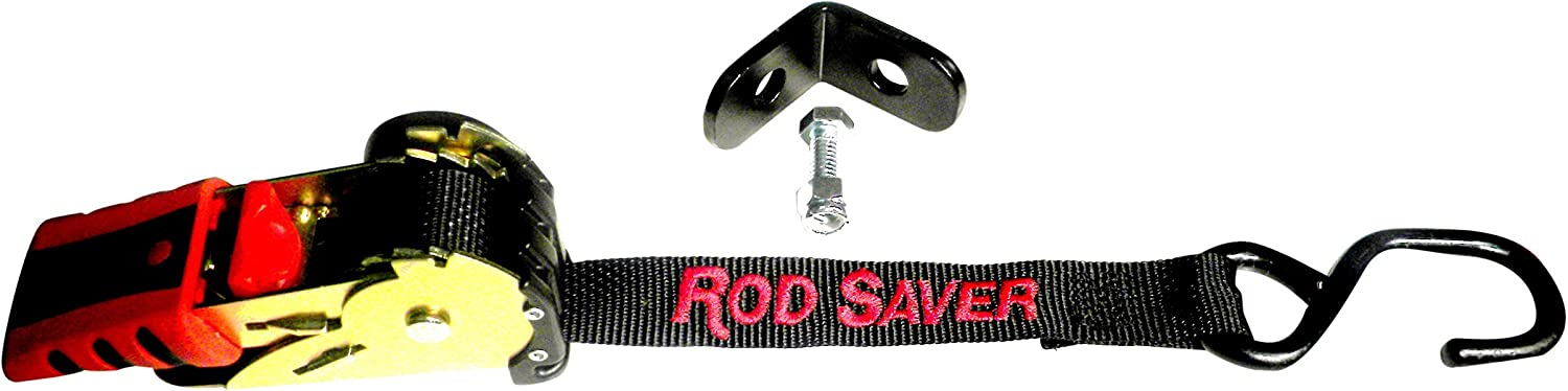 Rod Saver 1 Retractable Bow Tie-Down with Mounting Bracket