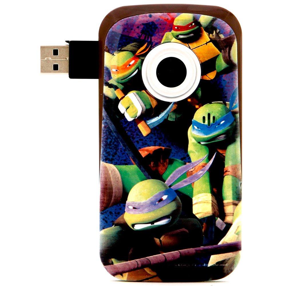 Teenage Mutant Ninja Turtles 38365TURTLES DIGITAL VIDEO RECORDERVideo Camera with 2-Inch LCD(Green)