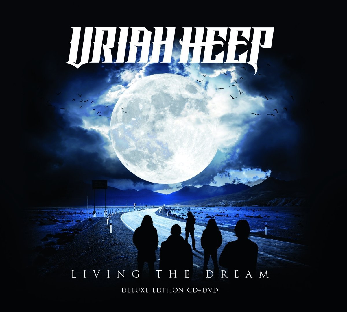 CD : Uriah Heep - Living The Dream (With DVD, Deluxe Edition)