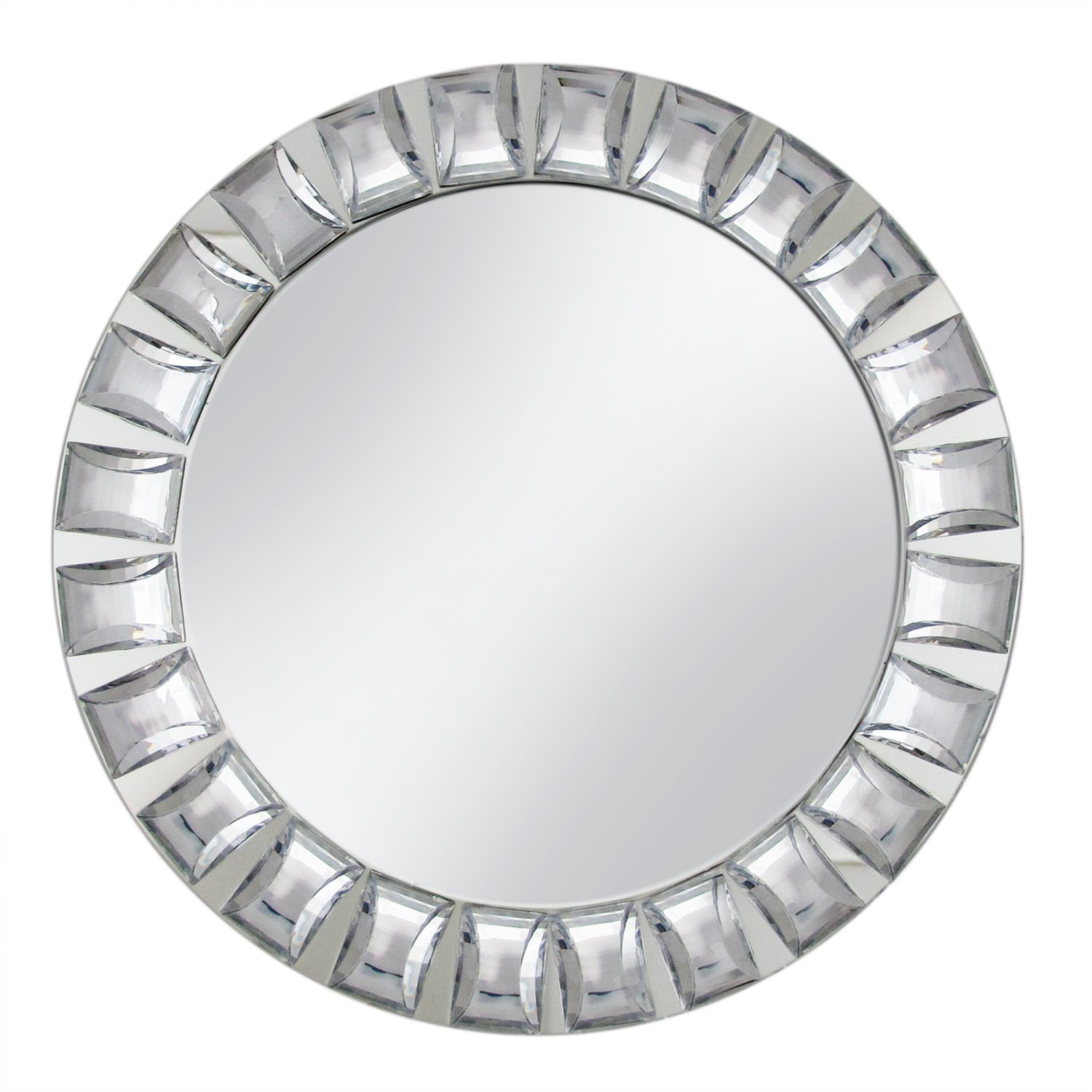 ChargeIt by Jay Charger Plate with Big Beads, Mirror Jay Imports 1330038