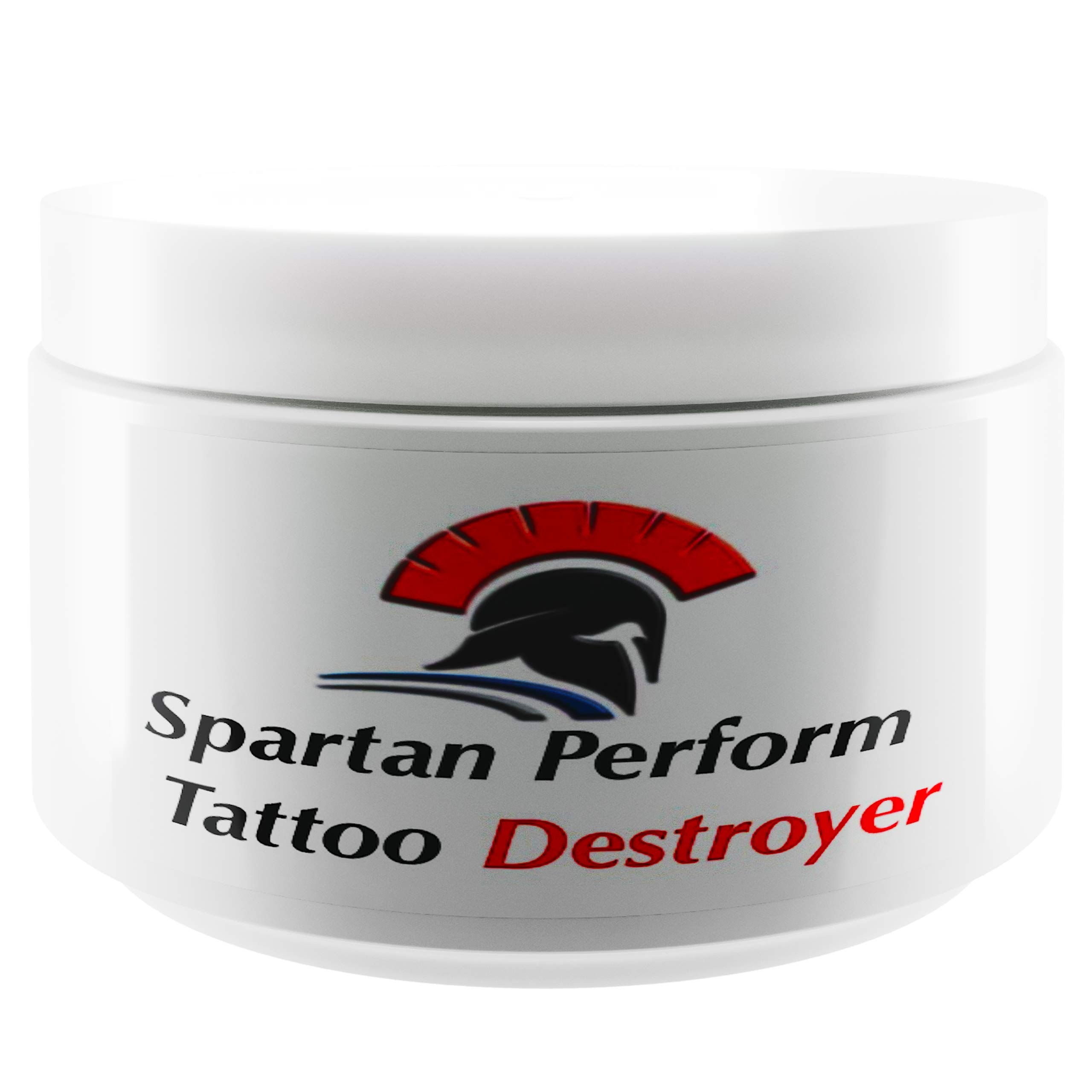 Tattoo Removal Cream Natural Fading system wrecking balm 2 week spartan perform