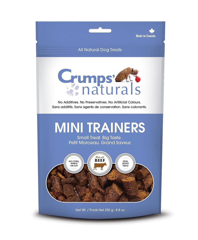 Crumps' Naturals Mini Trainers Beef (semi-Moist) (1 Pack), 120g/4.2 oz Crumps' Naturals MT-B-120